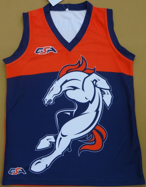 Bronco Jersey Front
