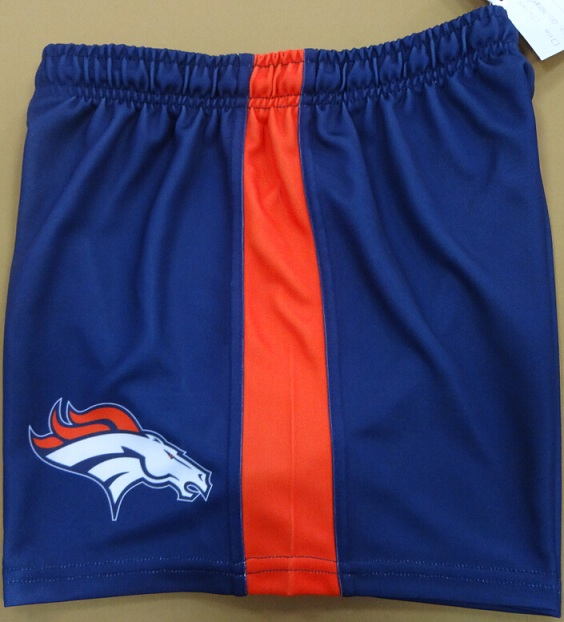 Broncos Shorts Left Side