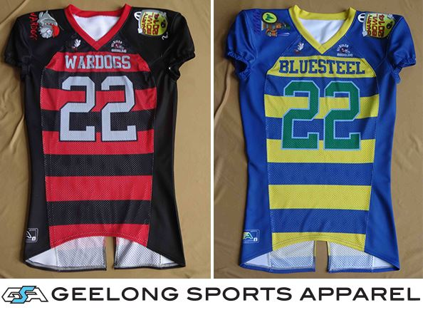 2014 Gridiron Queensland Charity Bowl Jersey Promo