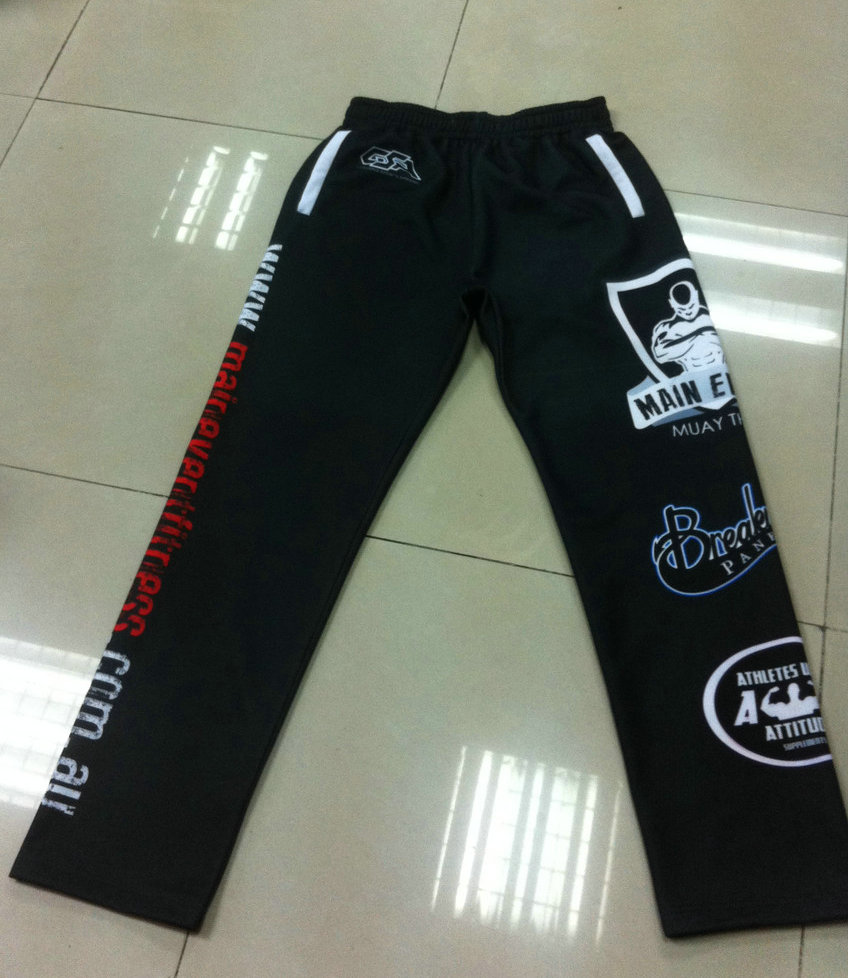 Main Event Fitness Track Pants Front