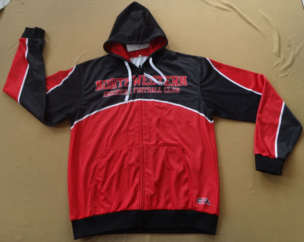 Northwestern Predators Hooded Jacket Front